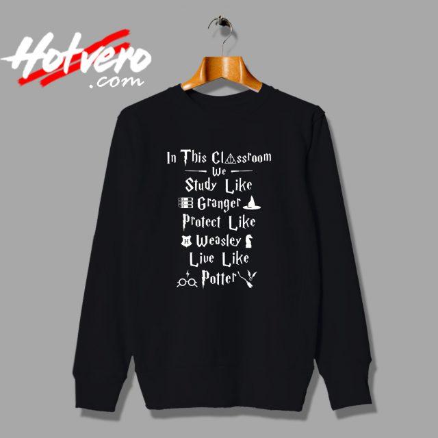 Harry Potter Halloween Classroom Sweatshirt