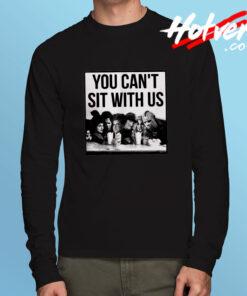 Hocus Pocus Freddy Jason Sit With Us Long Sleeve T Shirt