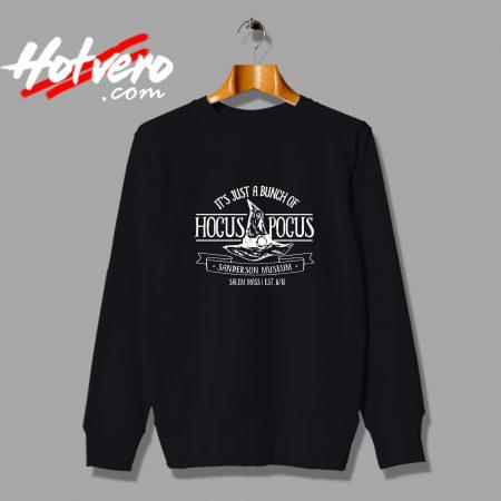 Hocus Pocus Halloween Sanderson Museum Sweatshirt