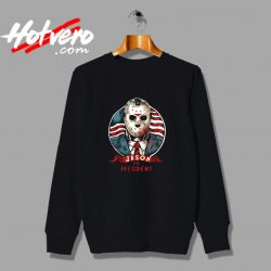 Jason Voorhees for President 2020 Halloween Swearshirt
