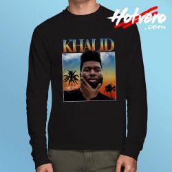 Khalid DJ Streetwear Free Spirit Long Sleeve T Shirt