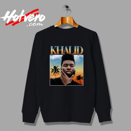 Khalid DJ Streetwear Free Spirit Urban Sweatshirt