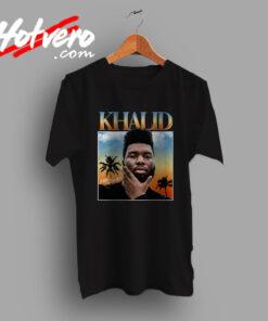 Khalid DJ Streetwear Free Spirit Urban T Shirt
