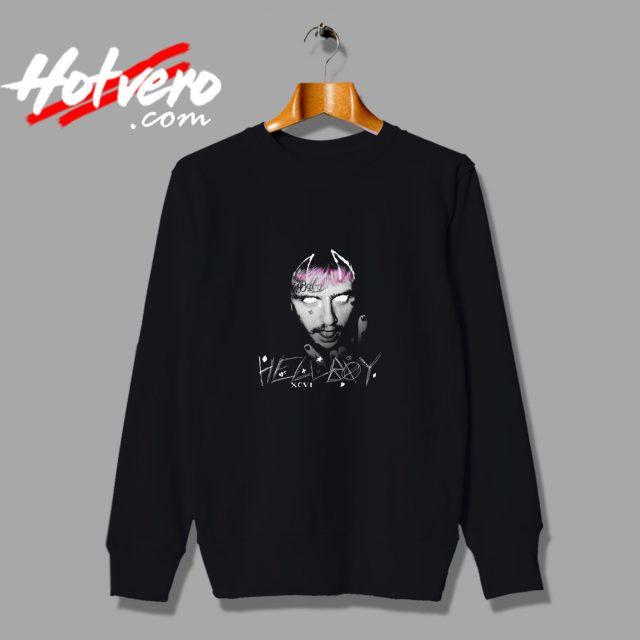 Lil Peep Hellboy Tattoo Sweatshirt