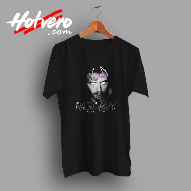 Lil Peep Hellboy Tattoo T Shirt