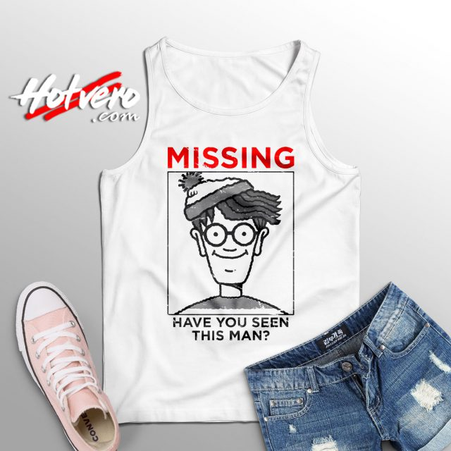 Missing Waldo Have You Seen This Man Tank Top