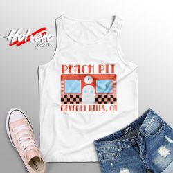 Peach Pit BH90210 California Tank Top