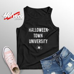 Spider Halloweentown University High Movie Tank Top