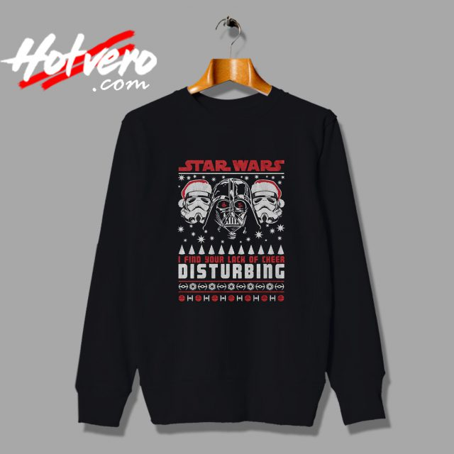 Star Wars Disturbing Quote Ugly Christmas Sweater