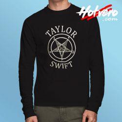 Taylor Swift Sigil Pentagram Funny Long Sleeve T Shirt
