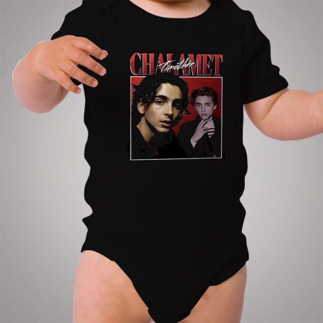 Timothe Chalamet Vintage Baby Onesie