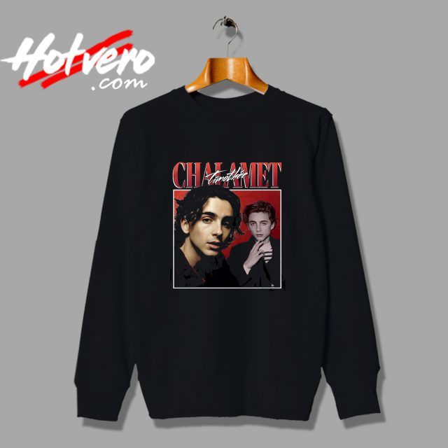 Timothe Chalamet Vintage Sweatshirt