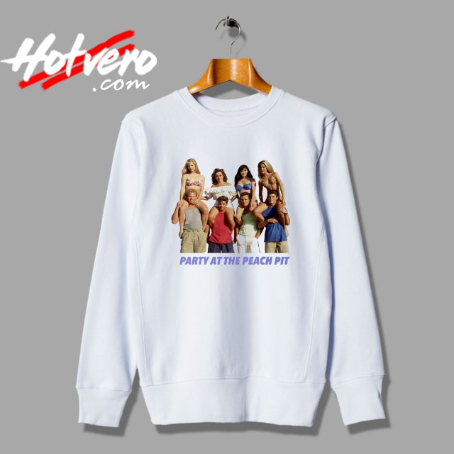 Vintage BH90210 Party At The Peach Pit Sweatshirt