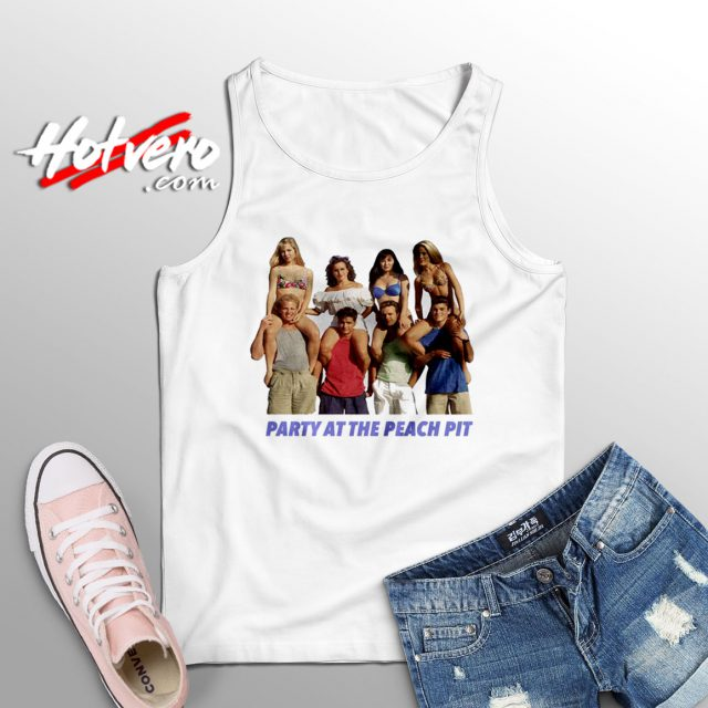 Vintage BH90210 Party At The Peach Pit Tank Top
