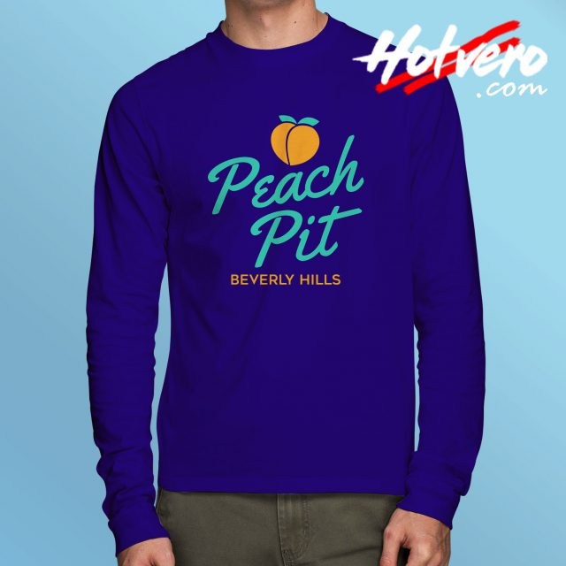Vintage BH90210 Peach Pit Long Sleeve Tee