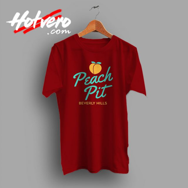 Vintage BH90210 Peach Pit T Shirt