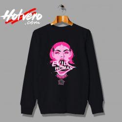 Vintage Elo Evil Woman Art Unisex Sweatshirt