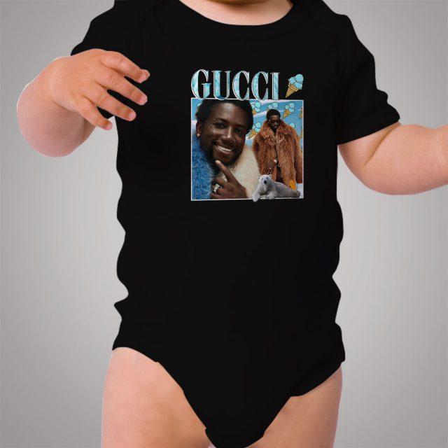 Vintage Gucci Mane Ice Cream Cone Baby Onesie