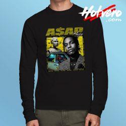 Vintage Hip Hop Asap Rocky Urban Long Sleeve T Shirt