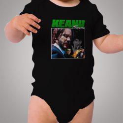 Vintage Keanu Reeves Matrix Urban Baby Onesie