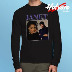 Vintage Streetwear Janet Jackson Long Sleeve T Shirt
