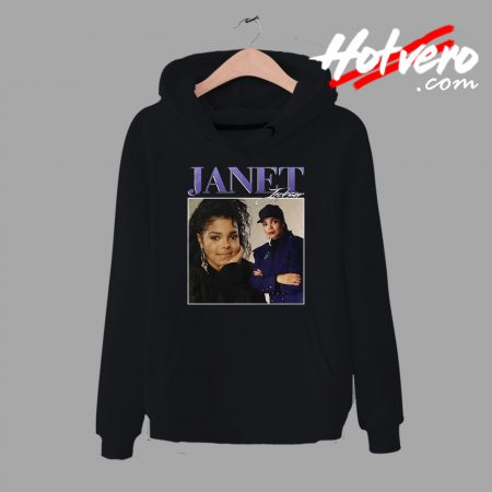 Vintage Streetwear Janet Jackson Unisex Hoodie