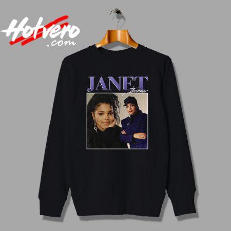 Vintage Streetwear Janet Jackson Unisex Sweatshirt
