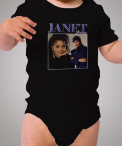 Vintage Streetwear Janet Jackson Urban Baby Onesie