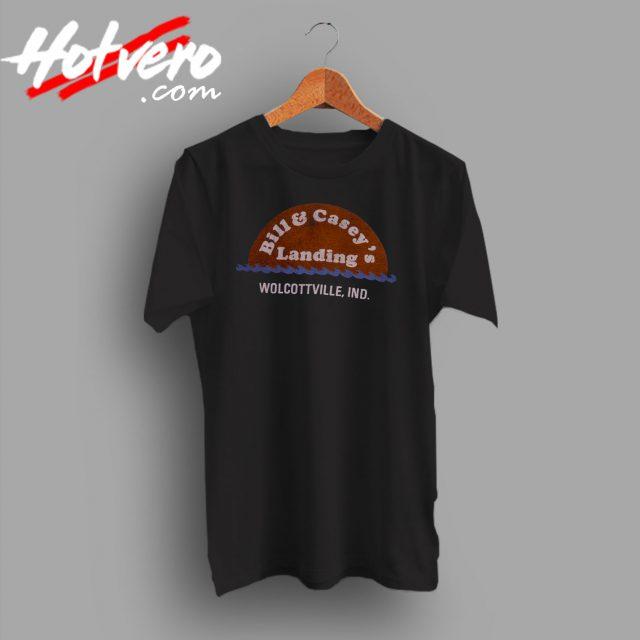 80s T Shirt Bill Caseys Landing Wolcottville Indiana t shirt