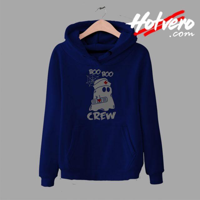 Boo Boo Crew Nurse Ghost hoodie