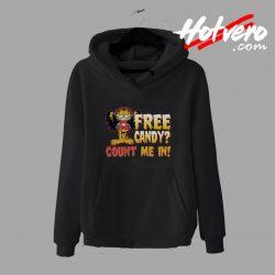 Count Me In Garfield hoodie