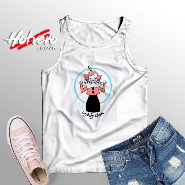 Crybaby Clown Tank top