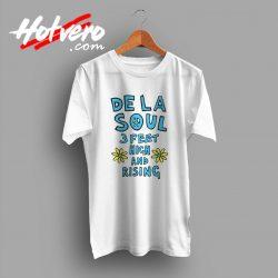 De La Soul 3 Feet High And Rising Vintage T Shirt