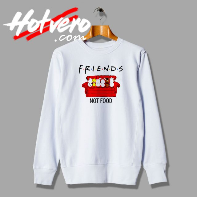 Friends TV Show Parody Vegan Sweatshirt