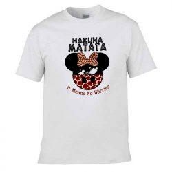 Hakuna Matata Disney Mickey Mouse T Shirt