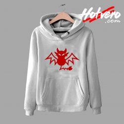 Halloween Red Bat Hoodie