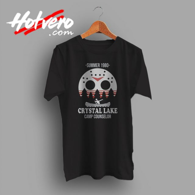 Jason Voorhees Crystal Lake Camp Counselor T Shirt