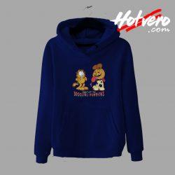 Night Of The Drooling Pumpkins Garfield hoodie