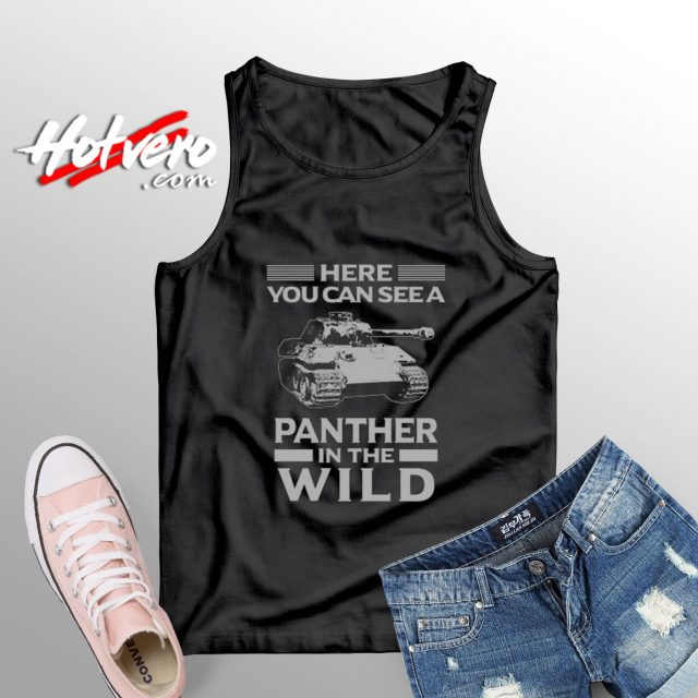 Panzer Military in the Wild tank top