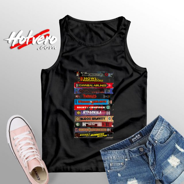 SCHRAB HOME VIDEO STACK OVHS tank top