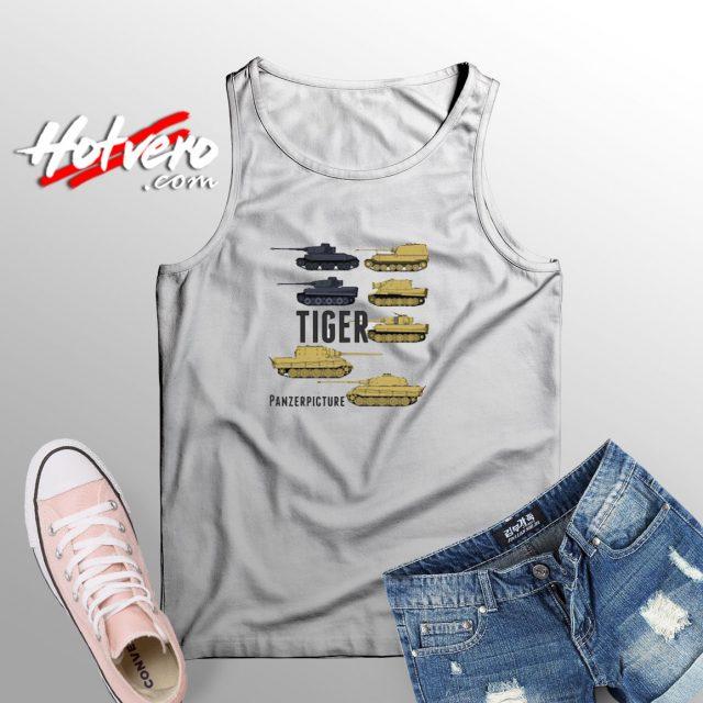 Tiger T Shirt Tank Top